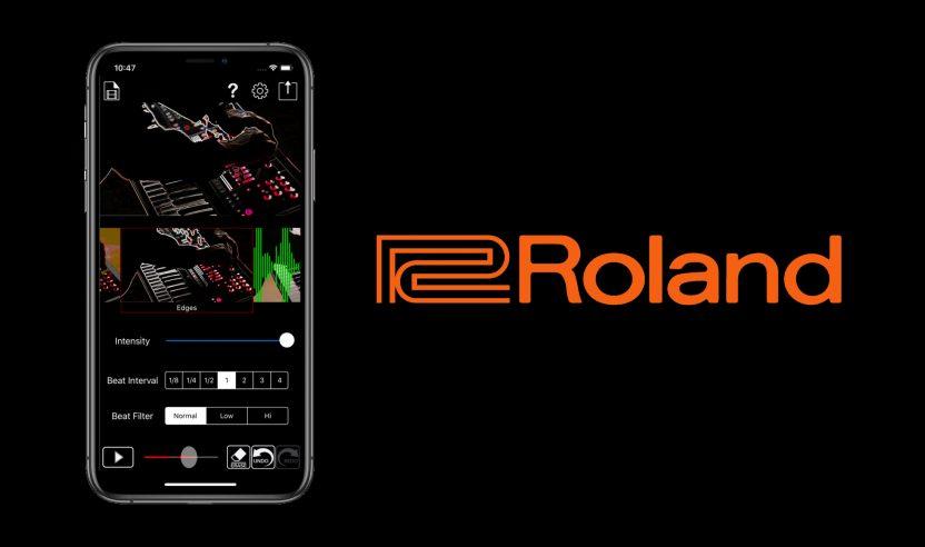 Neue Gratis-App von Roland: Visualisierungen für DJ-Performances