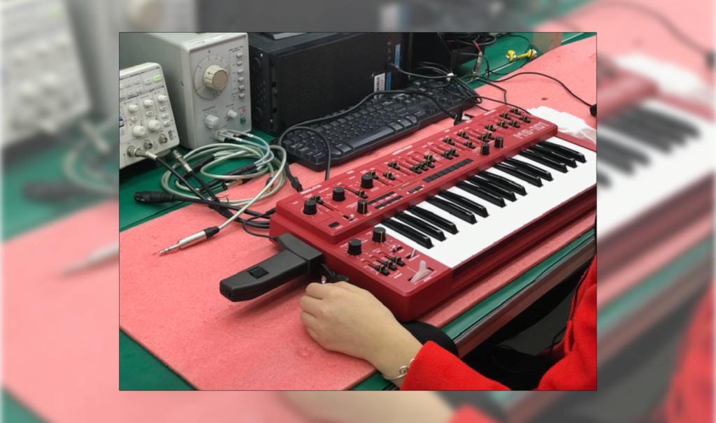 Behringer: Produktion des MS-101 begonnen