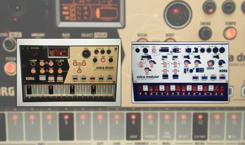 Neue Modelle der Korg-Familie aufgetaucht: Drum & Modular