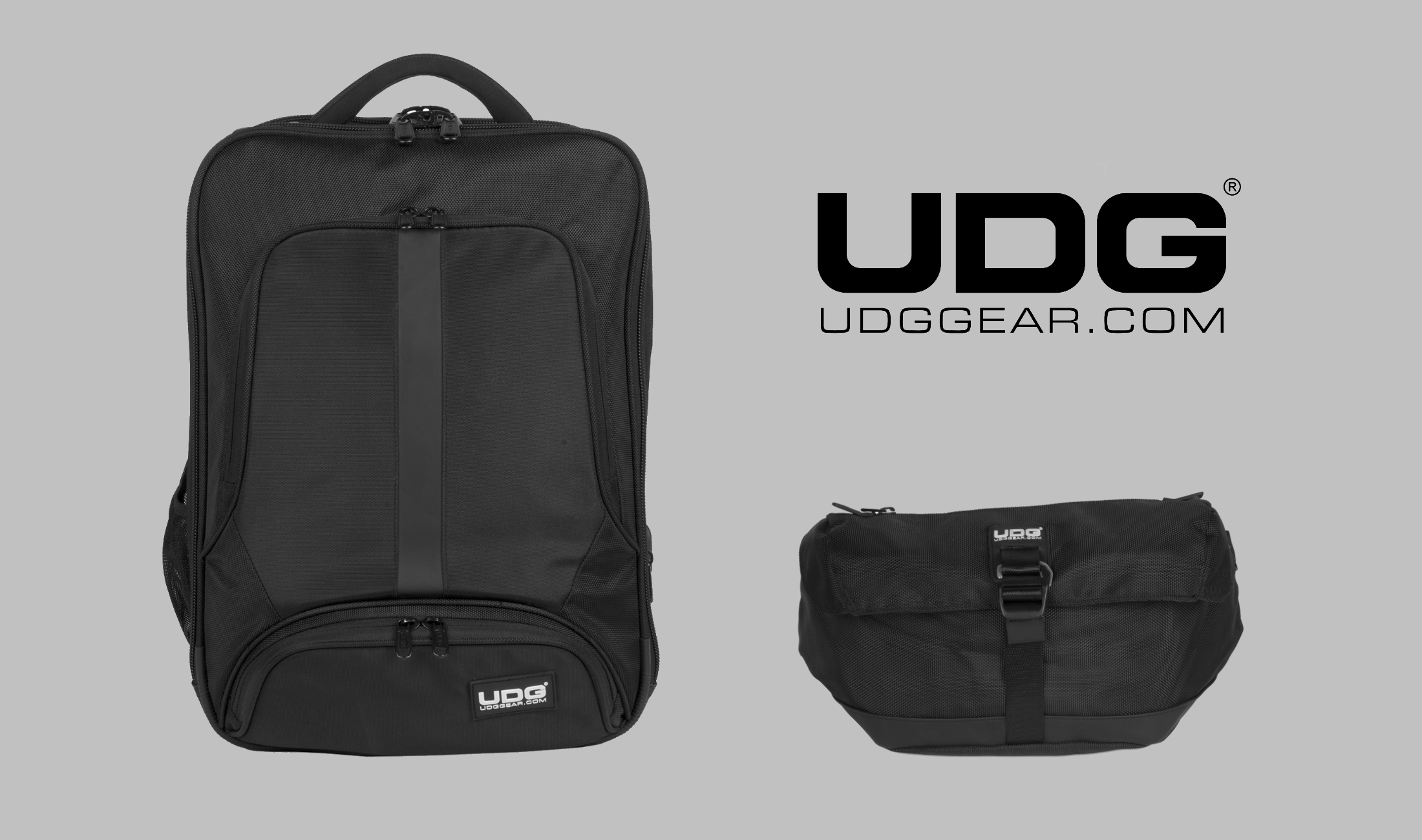 DJ-Bags: UDG bringt neuen Rucksack und Waist Bag heraus