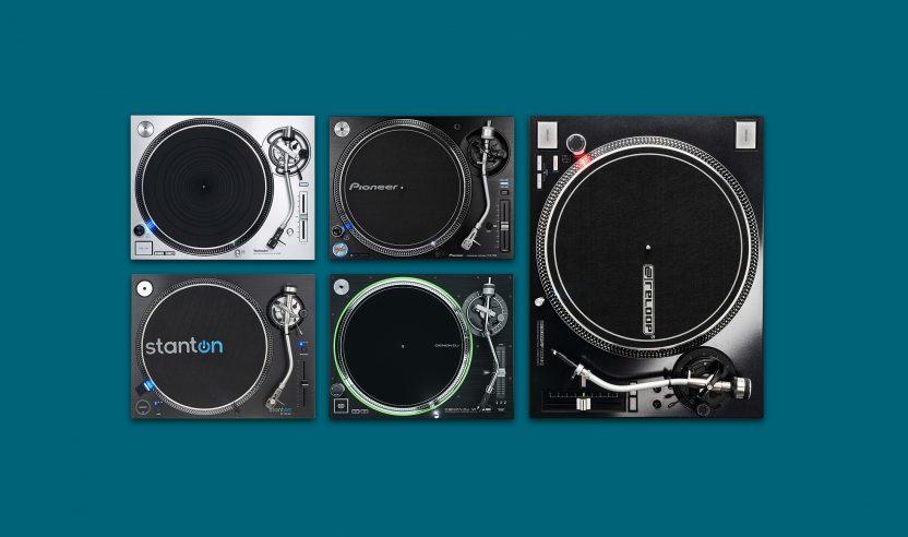Überblick: Die fünf besten DJ-Plattenspieler | 2021