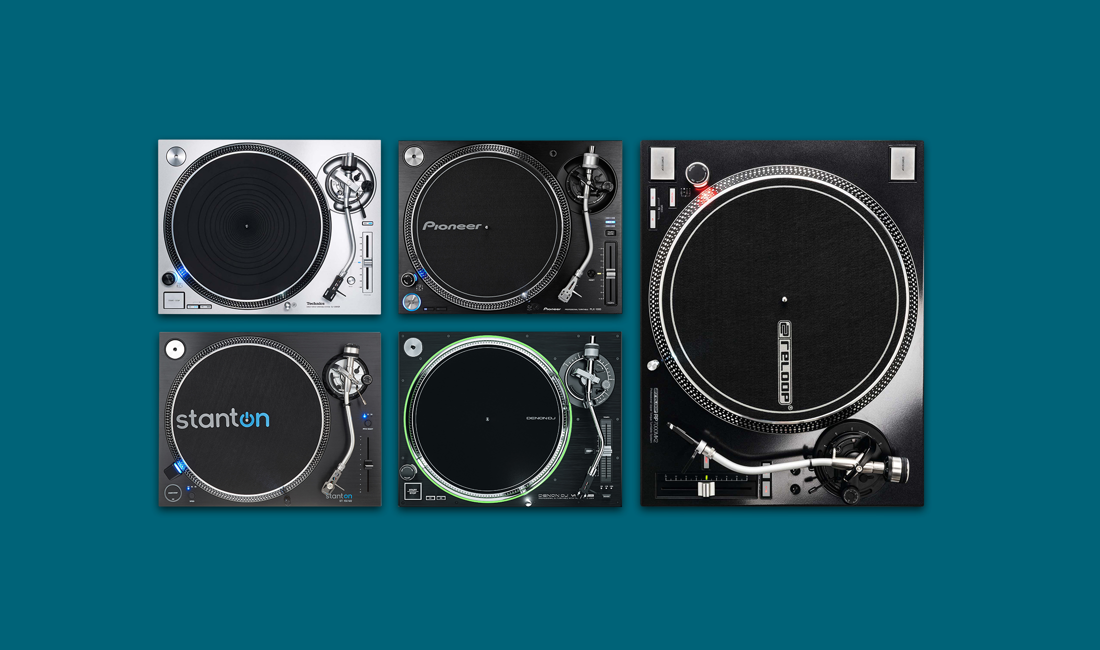 Überblick: Die fünf besten Plattenspieler für DJs