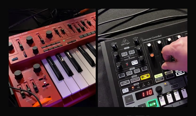 NAMM 2019 Videos: Behringer RD-808 und MS-101-RD in Action!