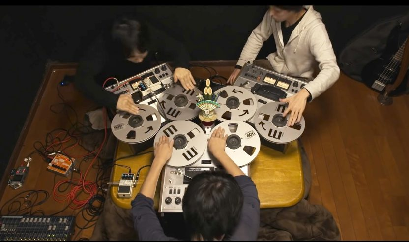"""Video: Das Open Reel Ensemble macht """"Turntablism"""" mit Tonbändern"""