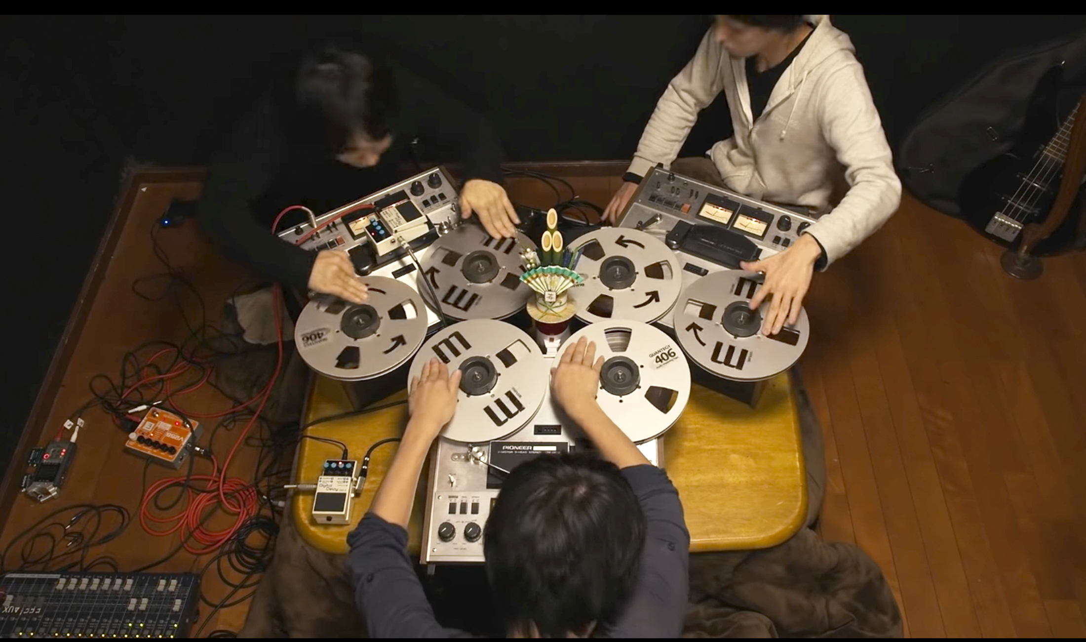 "Video: Das Open Reel Ensemble macht ""Turntablism"" mit Tonbändern"