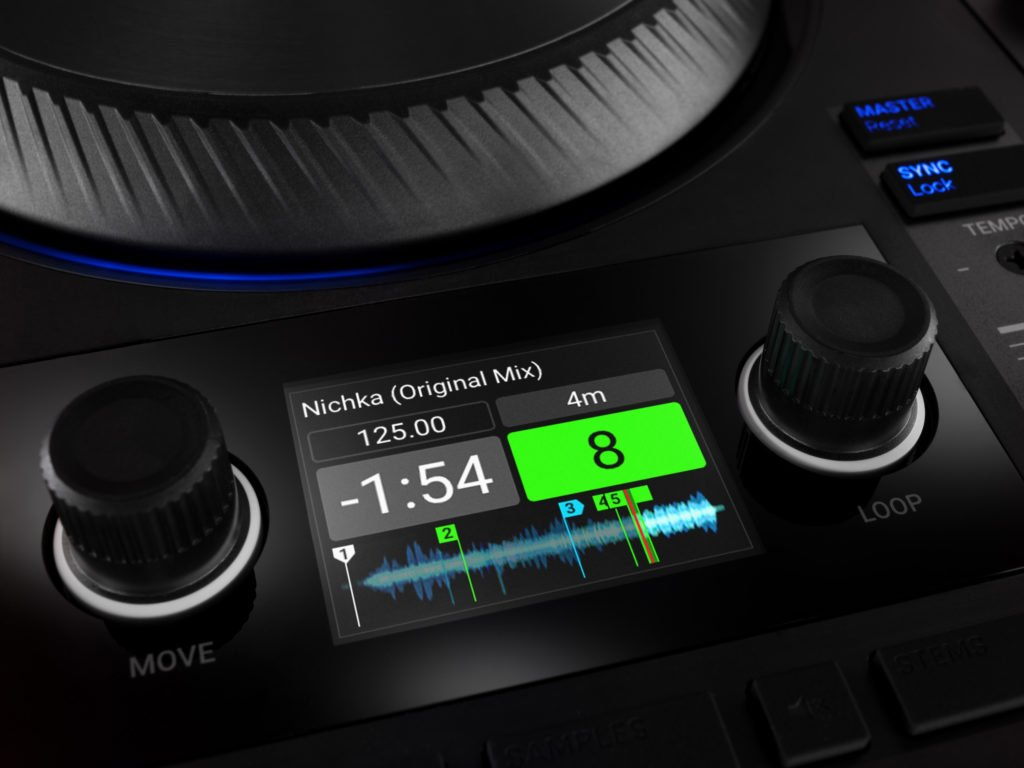 Traktor Kontrol S4 MK3 Display.