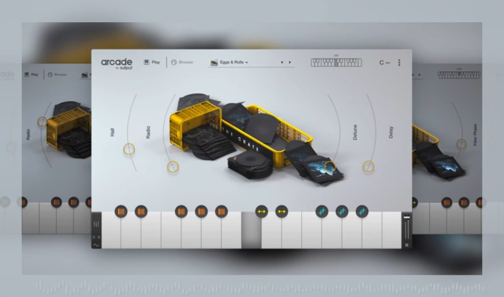 The Crate für Output Arcade macht Sample-Digging legal