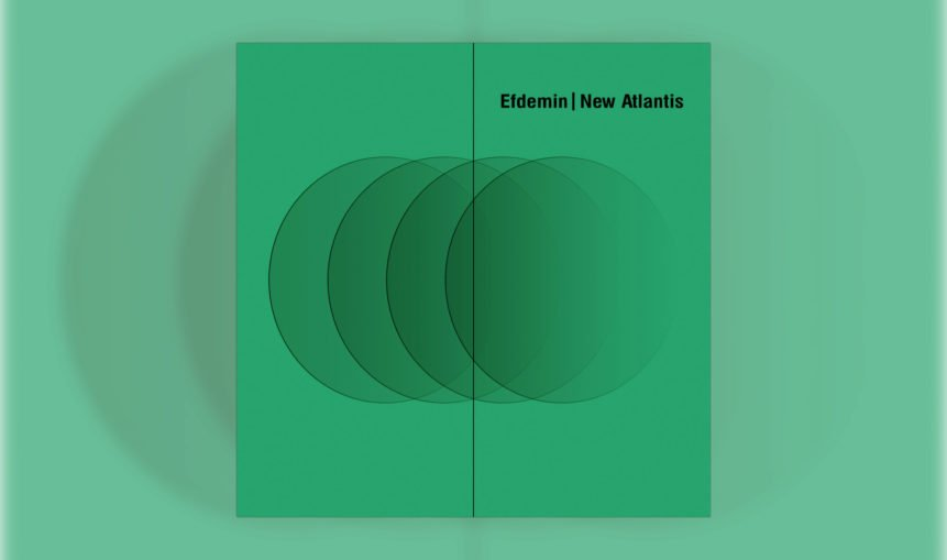 Das Cover von Efdemins Album New Atlantis