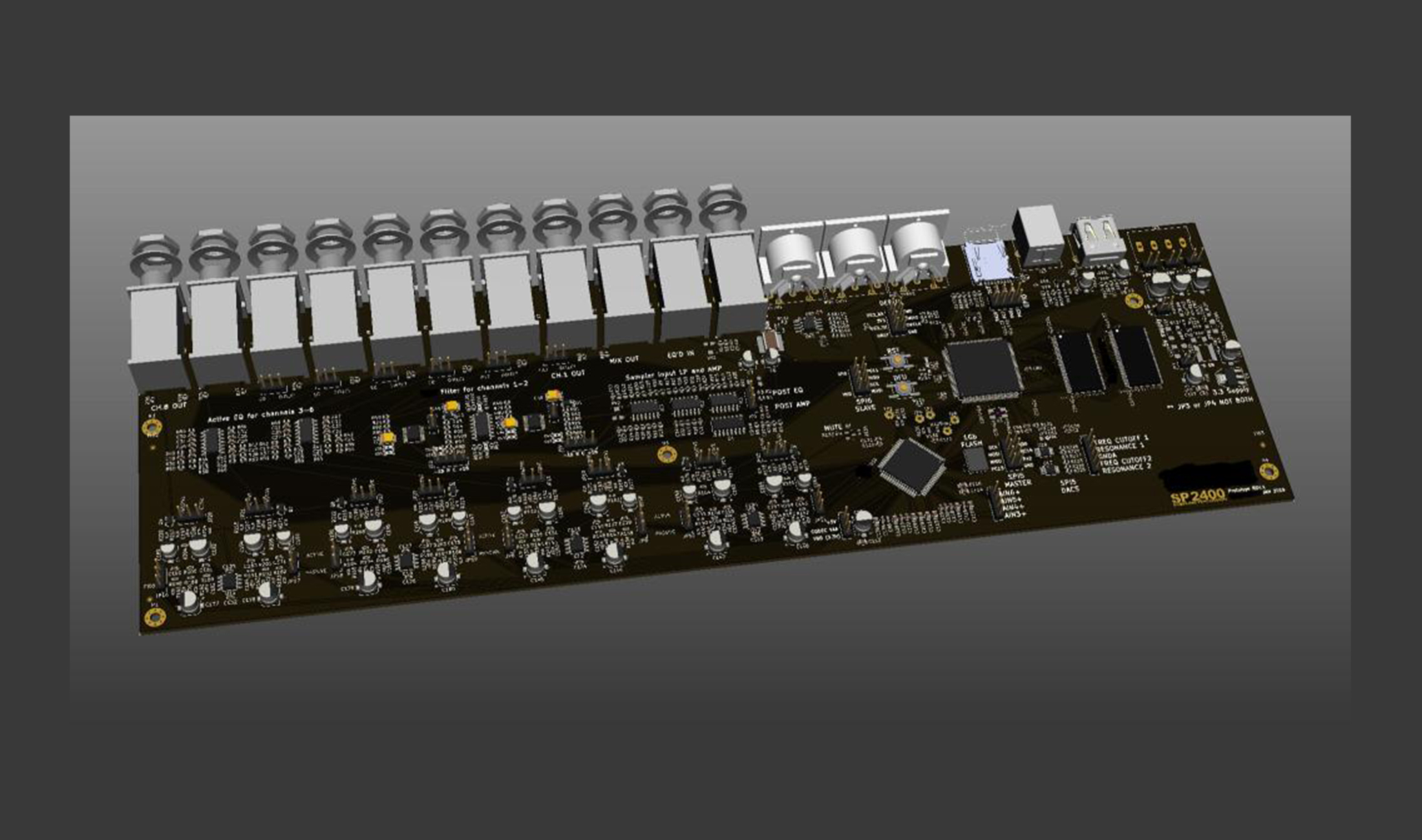 SP-2400: Baut Behringer einen Klon des Kult-Samplers E-Mu SP-1200?