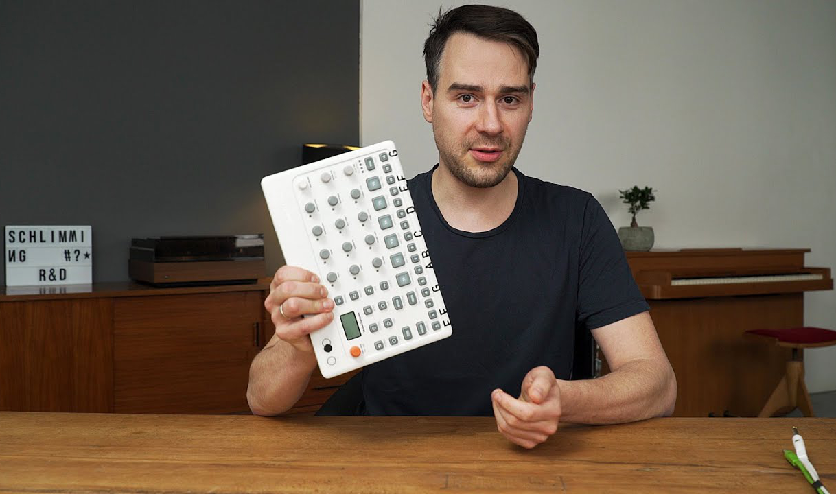 Stimming testet den neuen Elektron Model:Sample.