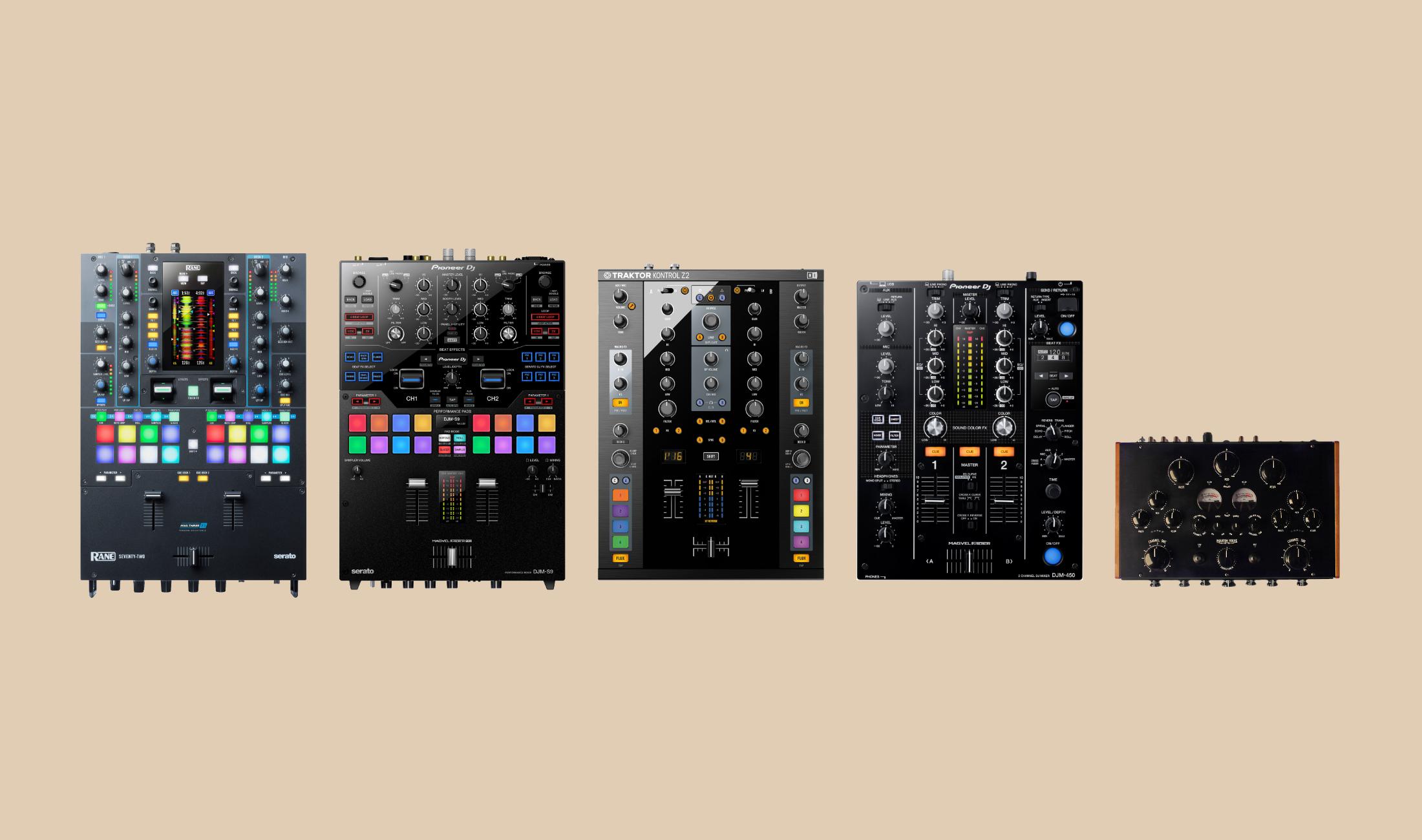 Überblick: Die besten Zweikanal-Mixer für DJs 2019