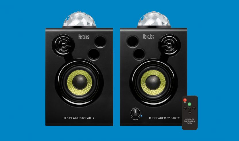 Neu: Hercules stellt leuchtende Lautsprecher für DJs vor