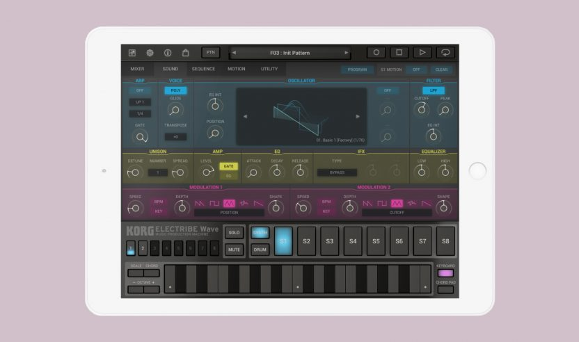 Test: Korg Electribe Wave 2.0 für iOS