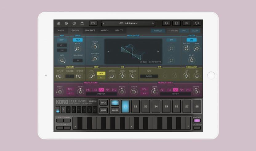 Test: Korg Electribe Wave 2.0 für iOS