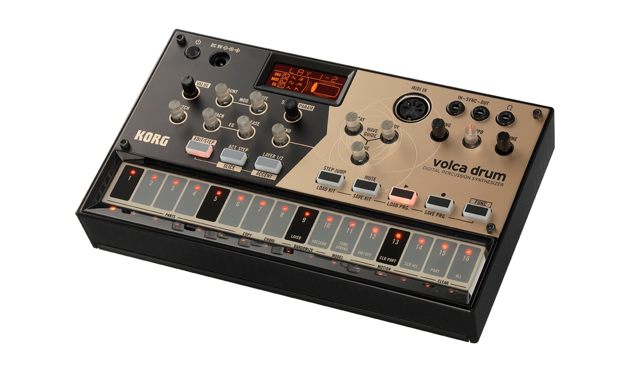 Test: Korg Volca Drum