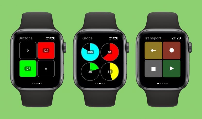 MidiWrist verwandelt deine Apple Watch in einen MIDI-Controller