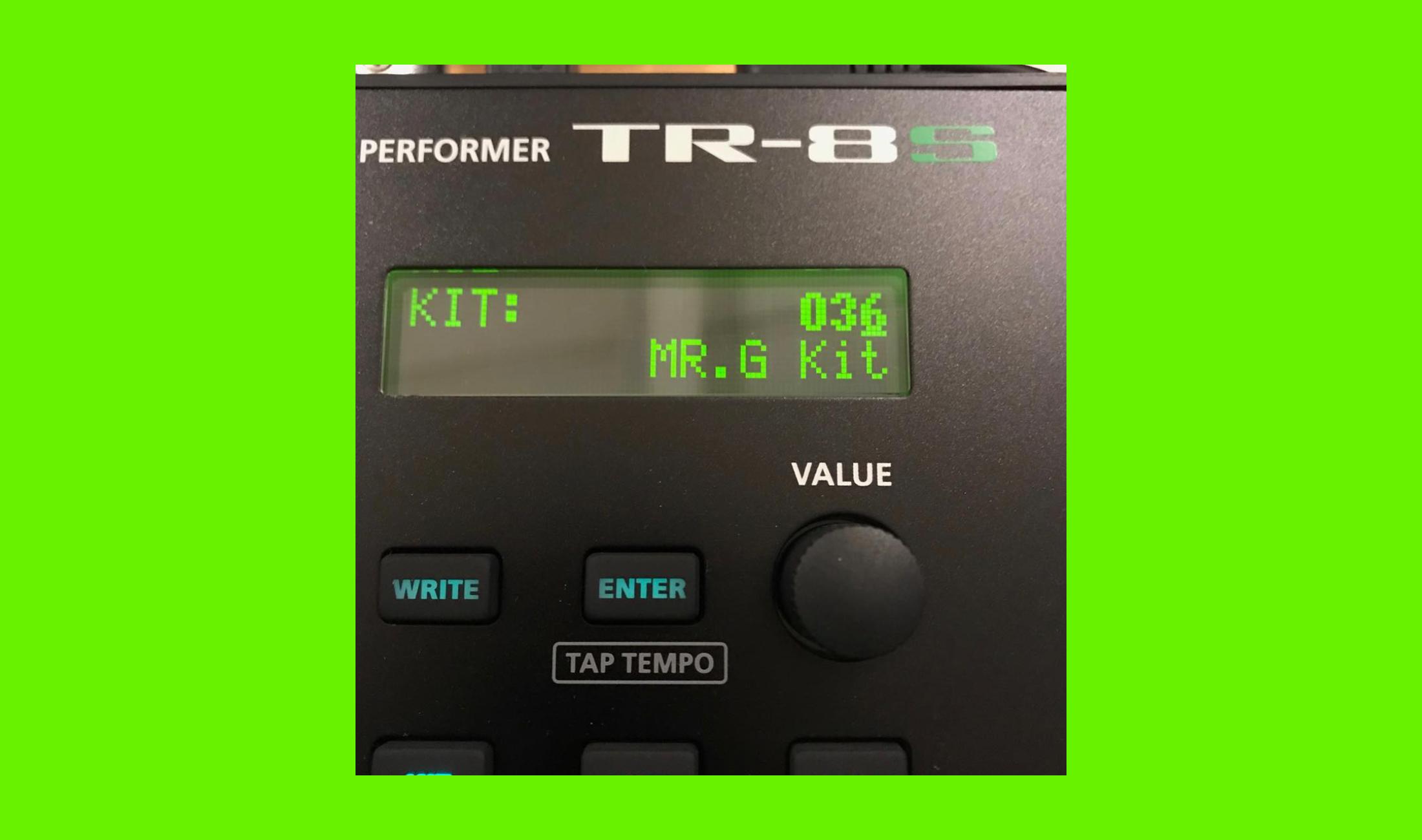 TR-8S-Kit unter seinem Namen: Mr. G beschwert sich über Roland