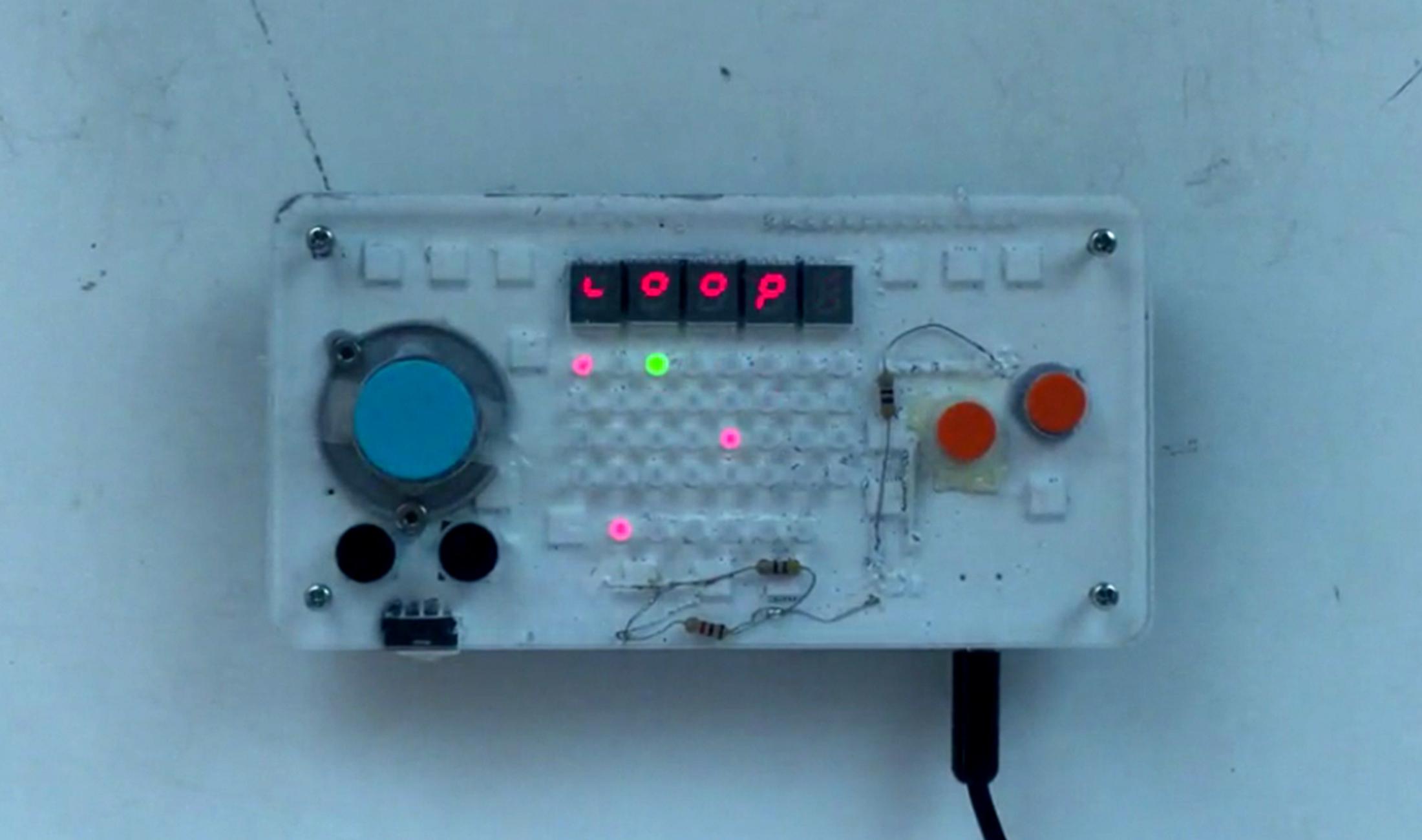 nanoloop ist ein Mix aus Synth, Sequenzer und Videogame