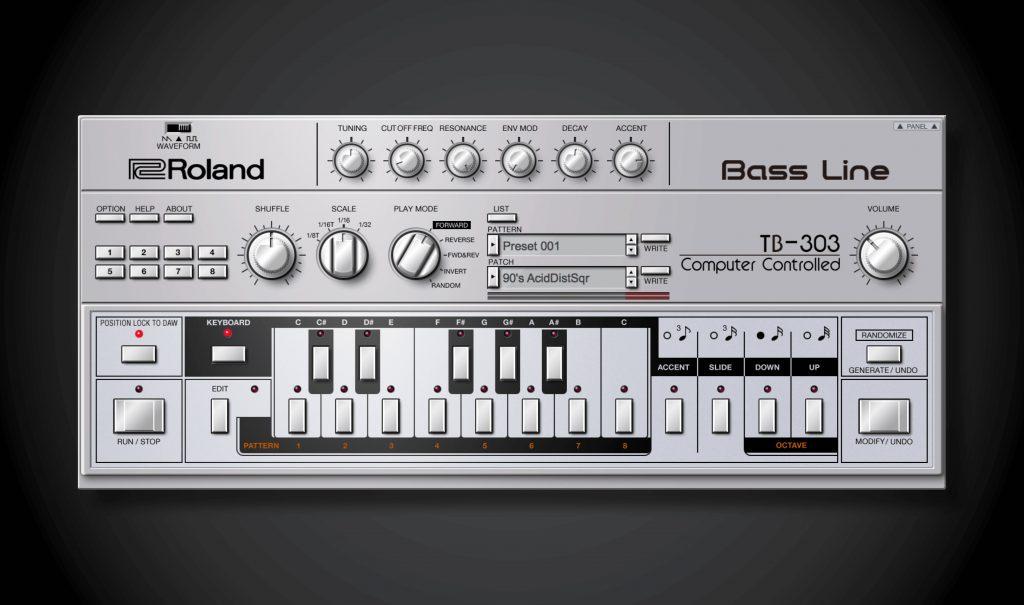 Roland fügt TB-303 zum Cloud-Service hinzu