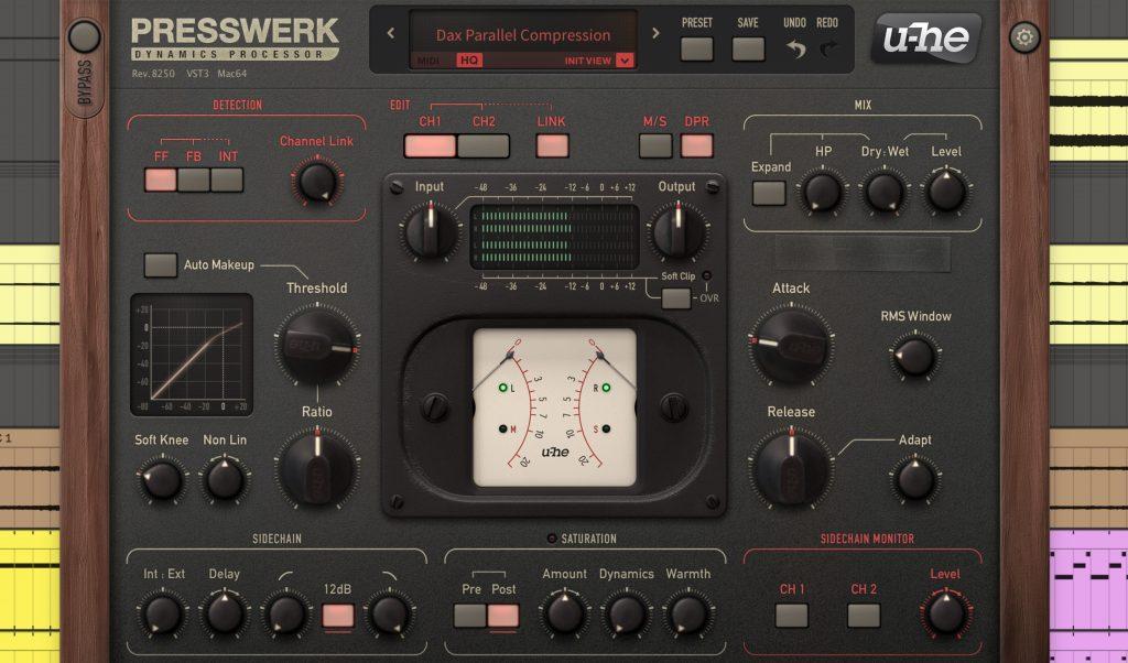 Techno-Mixing: Der Kompressor Presswerk von U-He.