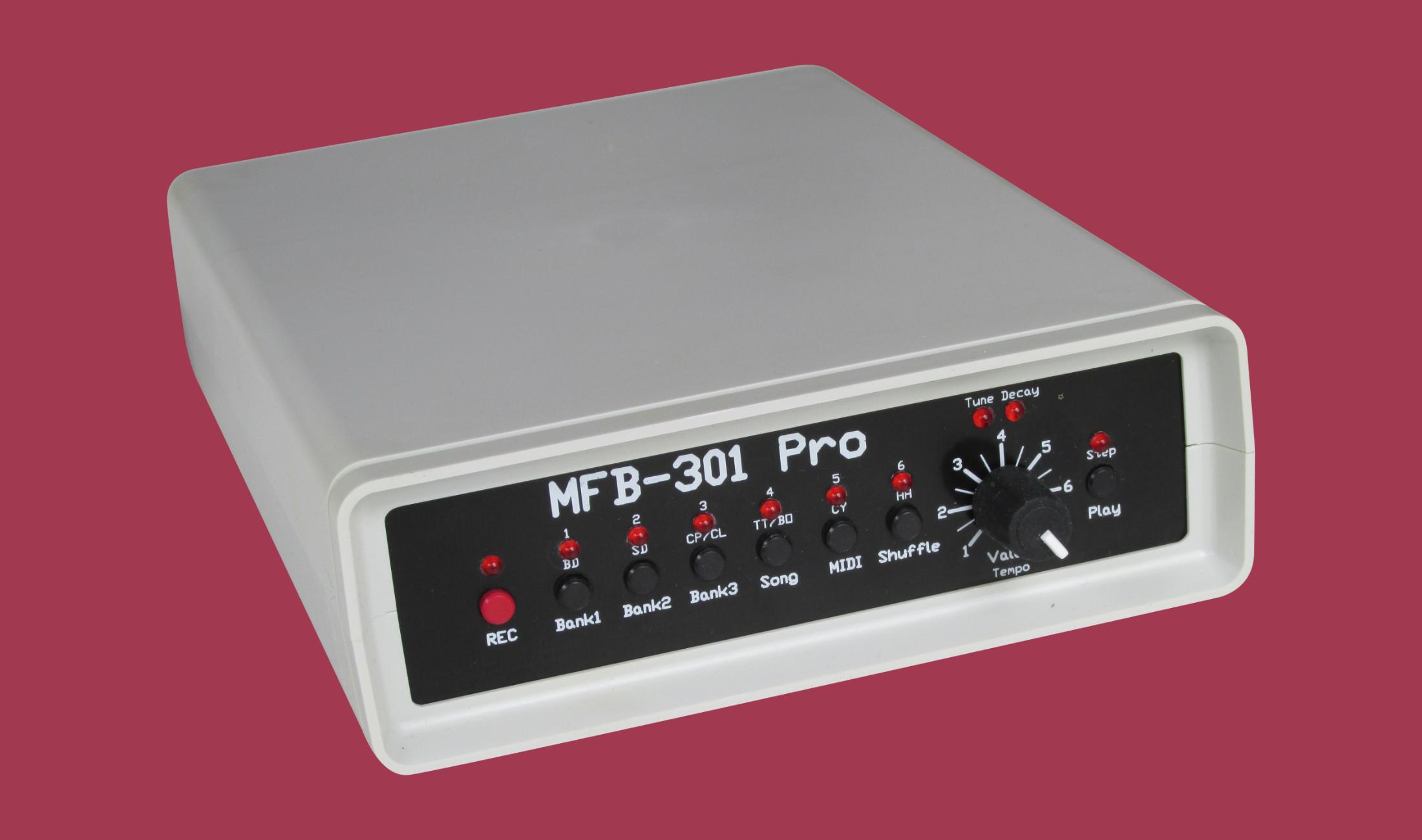 MFB-301 Pro: 40 Jahre alter analoger Drum-Klassiker neu aufgelegt