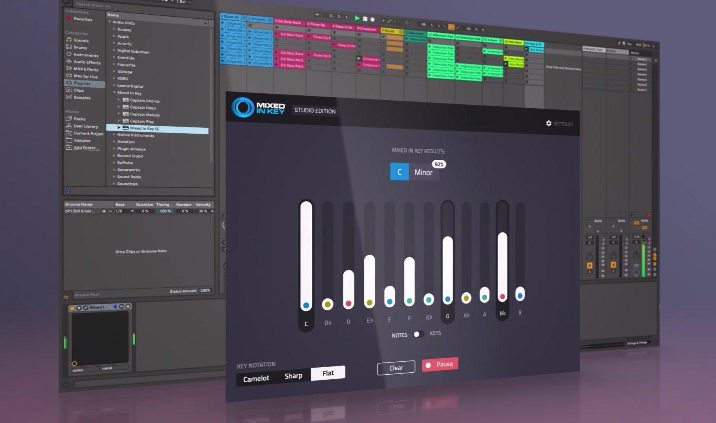 Studio-Edition: Mixed In Key jetzt auch als DAW-Plugin erhältlich