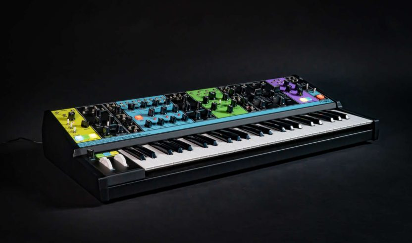 Superbooth 2019: Moog stellt neuen Premium-Synthesizer 'Matriarch' vor