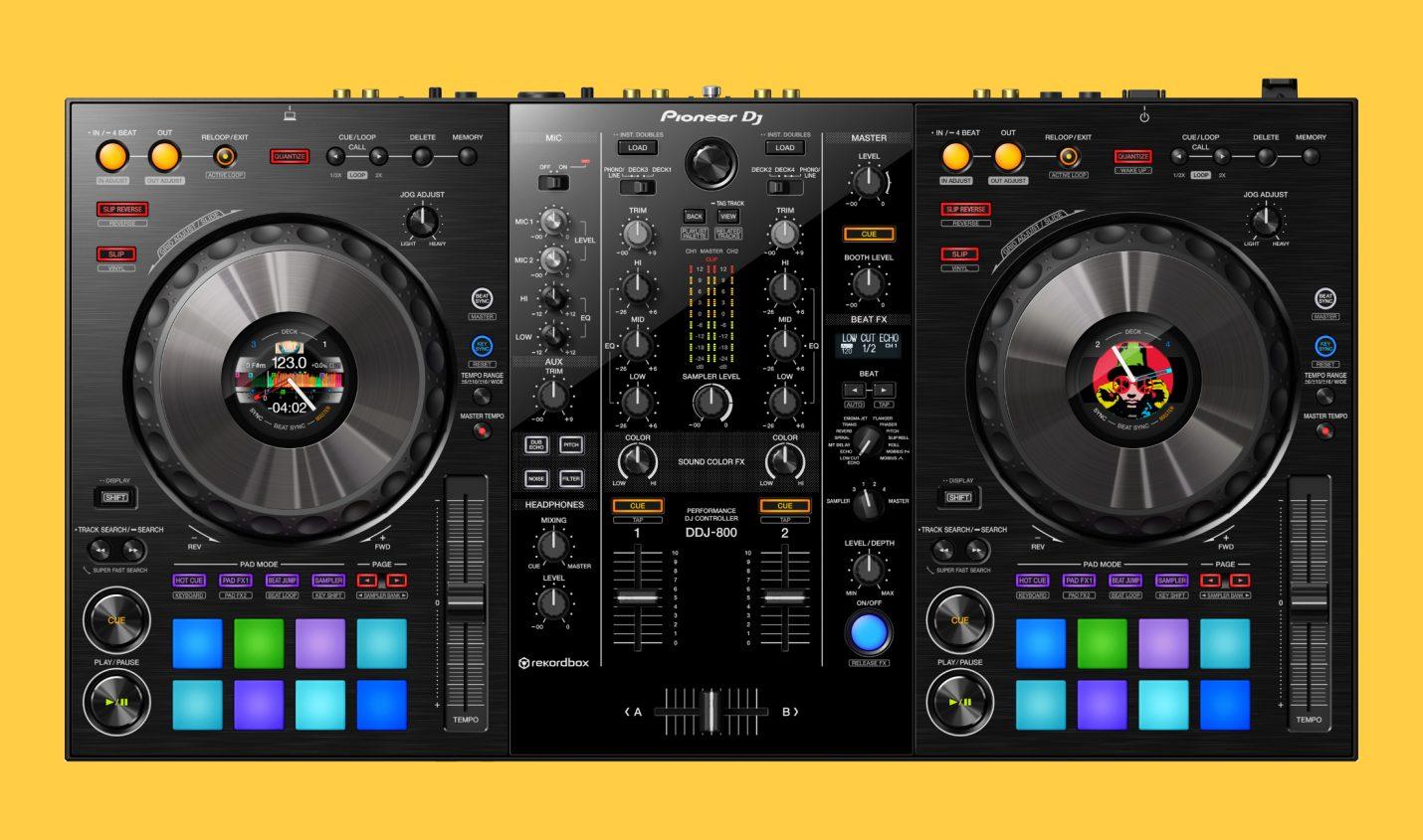 Neu: Pioneer DJ veröffentlicht neuen DJ-Controller DDJ-800