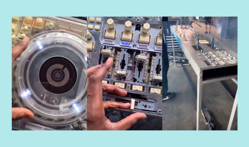 Durchsichtige CDJs und DJM: Pioneer DJ Kooperation mit Off-White?