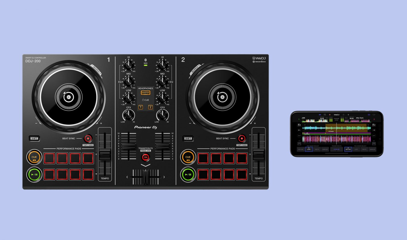 Pioneer DDJ-200: DJ-Controller für das iPhone