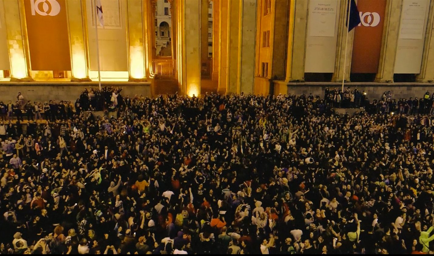 Raving Riot: Neue Doku über Proteste um den Club Bassiani