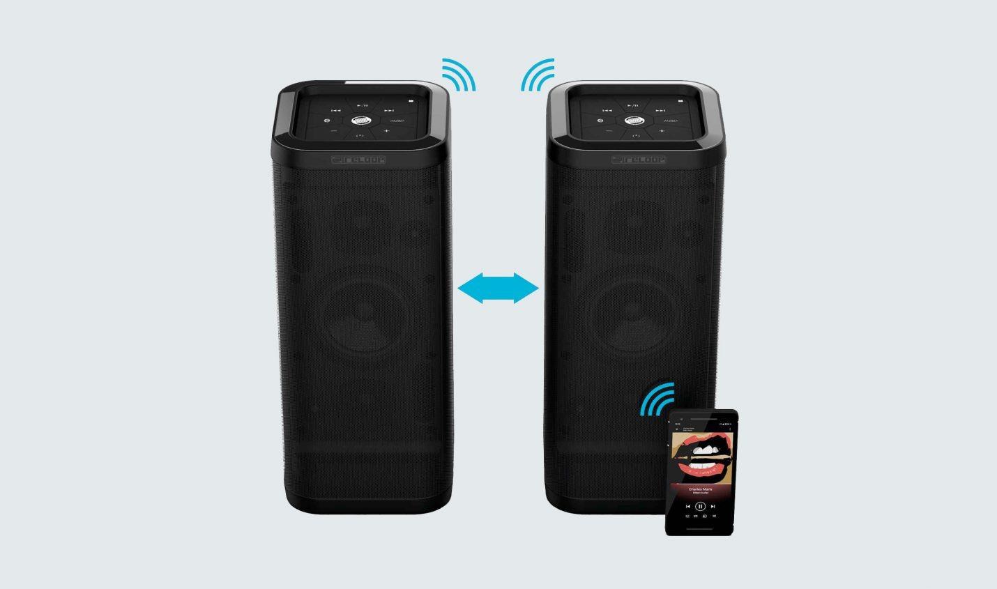 Reloop Groove Blaster BT – Mobiler Bluetooth-Speaker mit viel Bass
