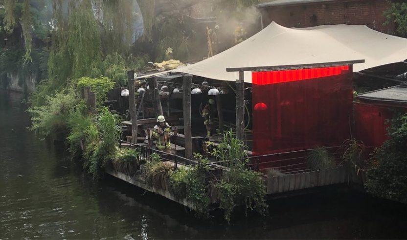 Feuer: Club der Visionäre fast vollständig ausgebrannt