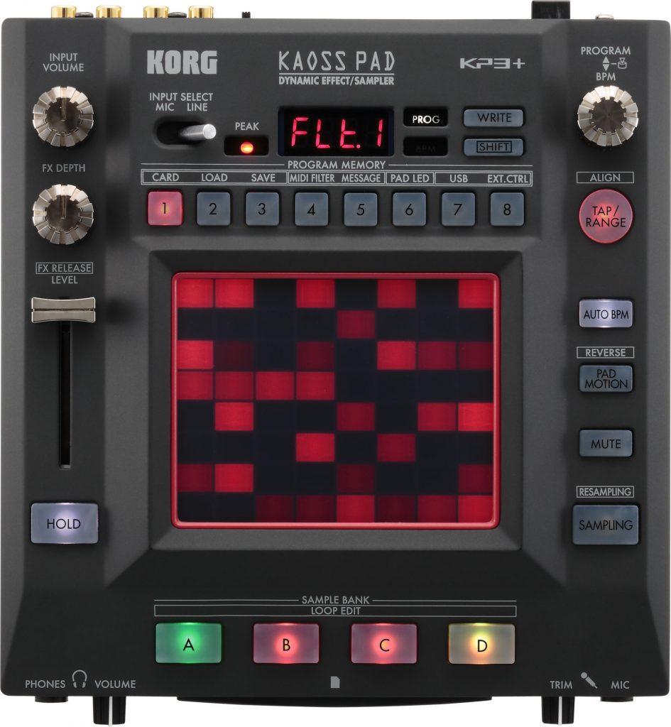 Das Kaosspad 3+ von Korg.