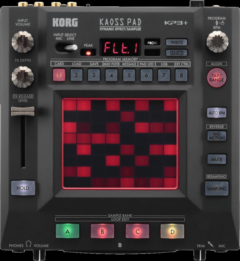 Korg Kaosspad 3 DJ Effekt.