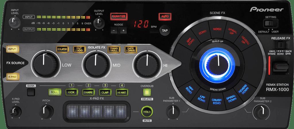 Pioneer DJ RMX-1000 DJ-Effekt.