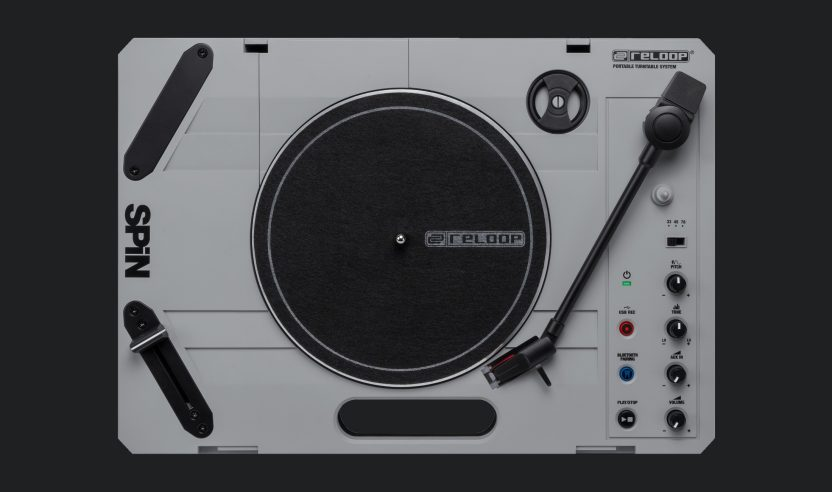 Neu: Reloop Spin – Tragbarer Plattenspieler