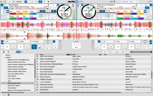 Der neue Day Mode in Serato DJ Pro 2.2 Beta.