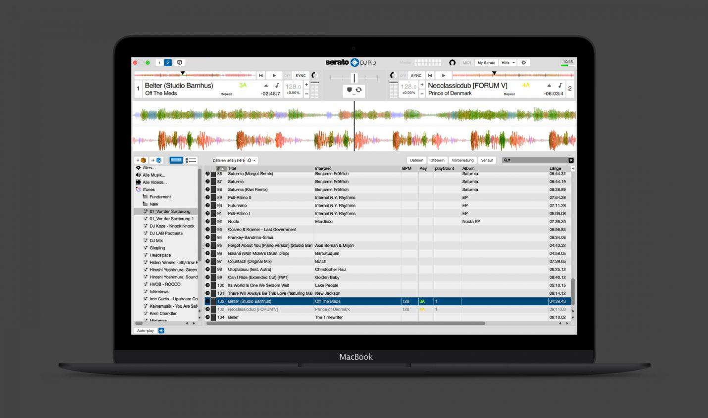 Serato DJ Pro 2.2 Beta: Day Mode, Play Count und mehr