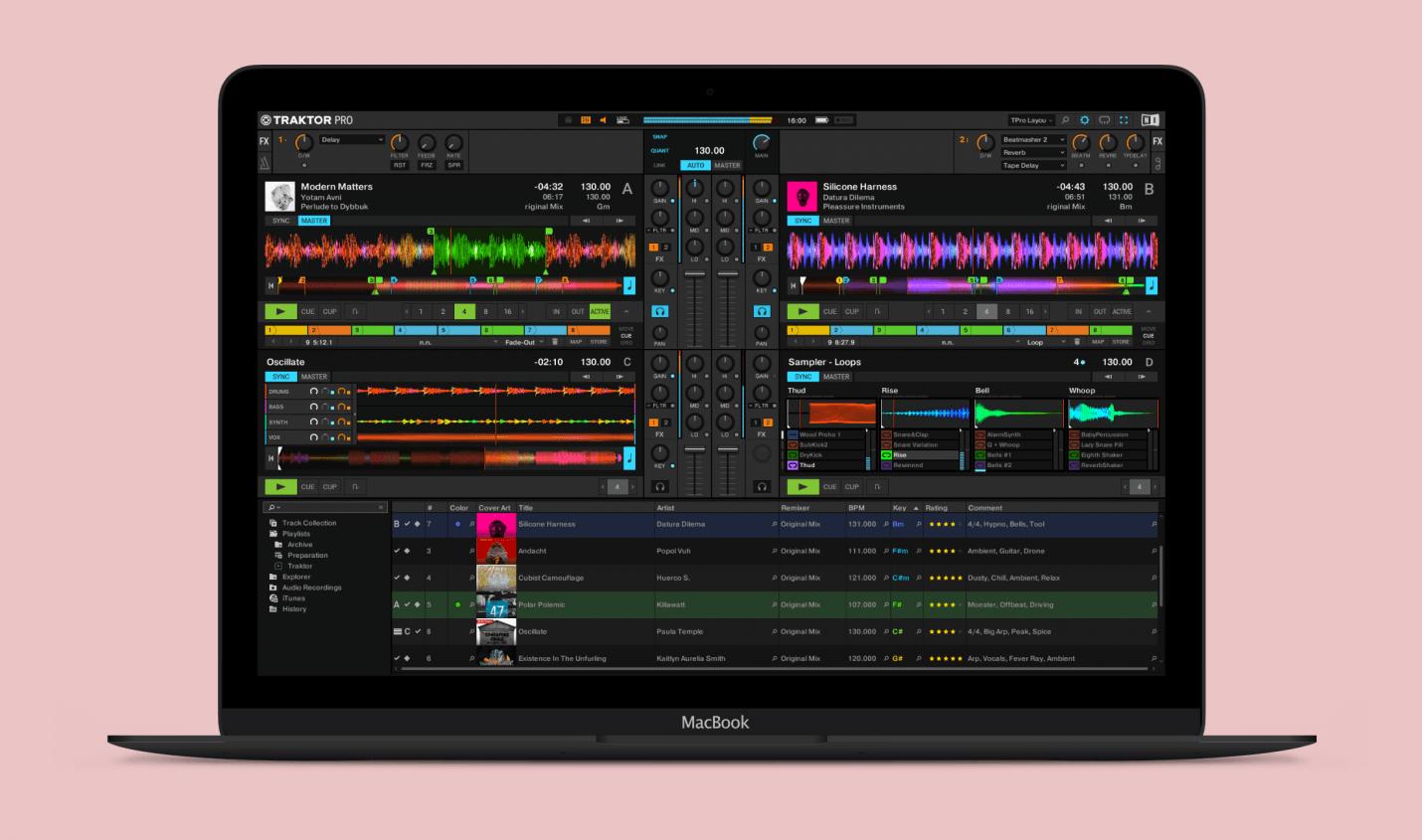 Update: Traktor Pro 3.2 bringt Features für Harmonic Mixing