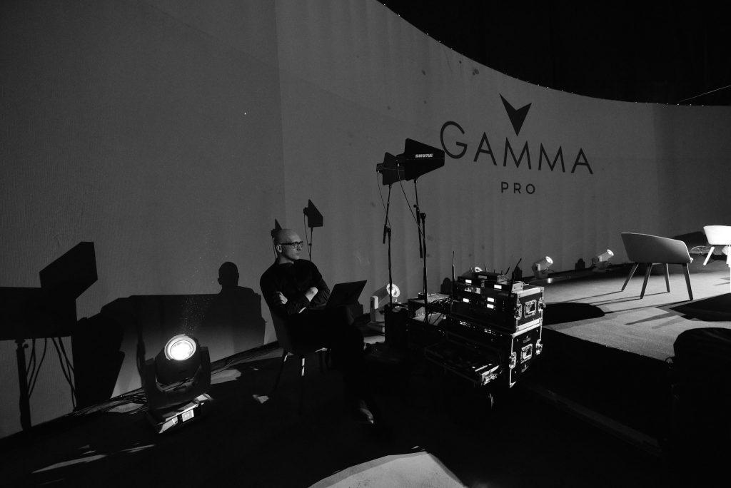 Das Gamma Pro Festival in St- Petersburg.