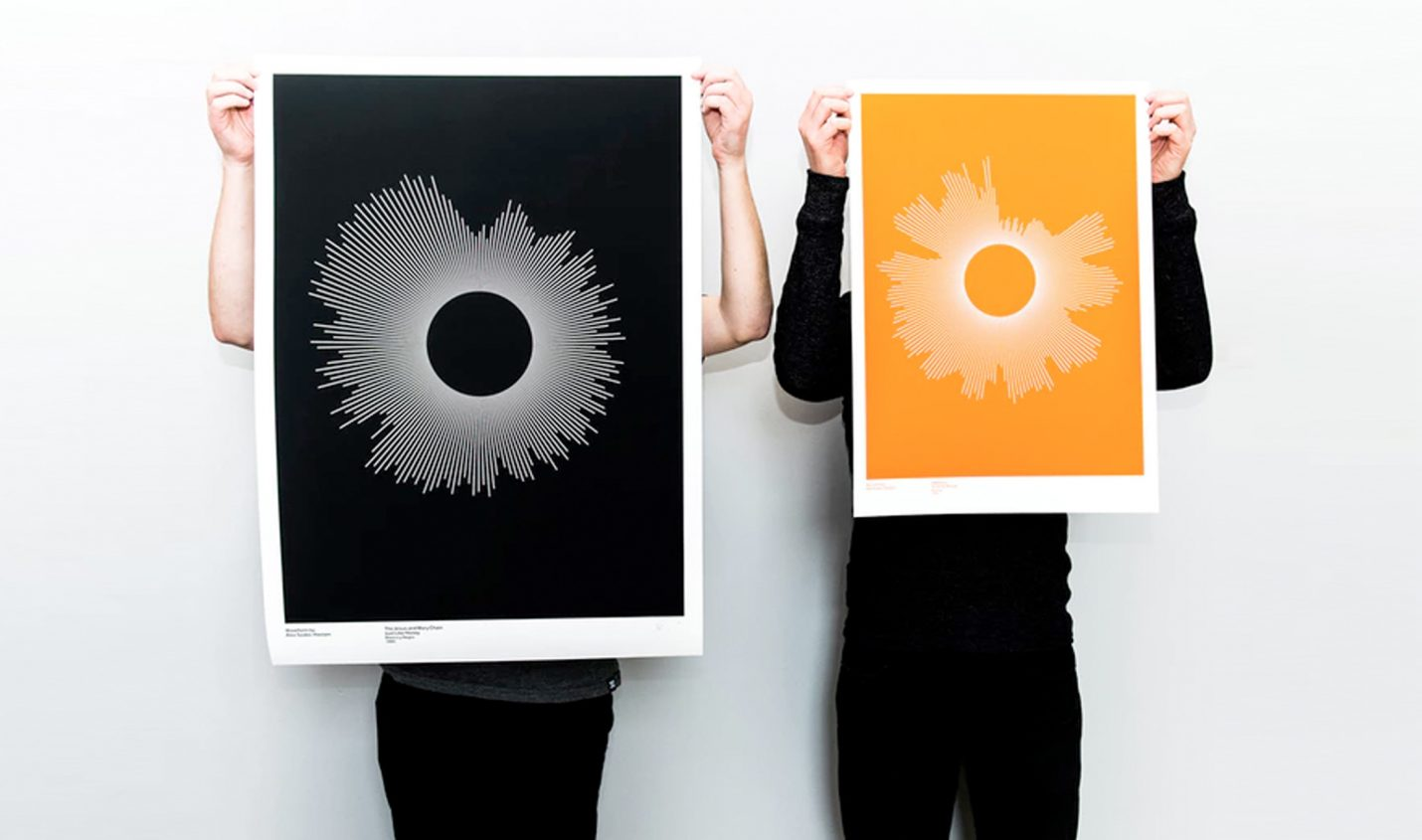 Waveform: Kickstarter-Projekt macht Poster aus Lieblings-Tracks
