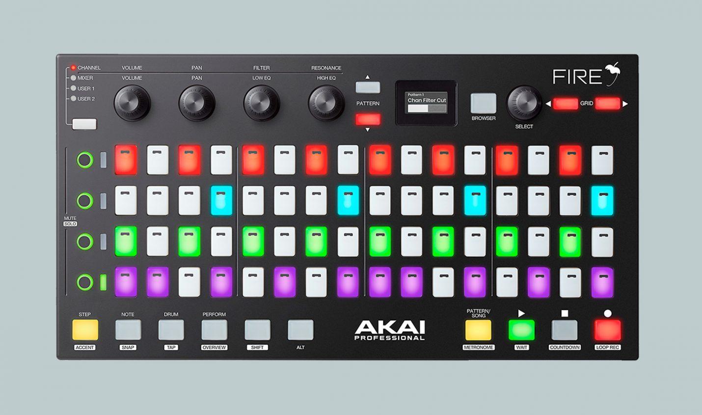CrossFire: Ableton Live mit Akai Fire Controller benutzen