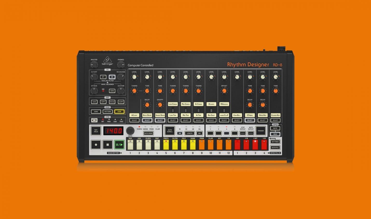 Behringer RD-8 (TR-808-Klon) ab sofort vorbestellbar - DJ LAB