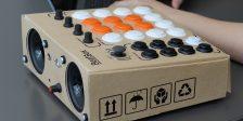 Rhythmo BeatBox ist eine Drummachine aus Pappe