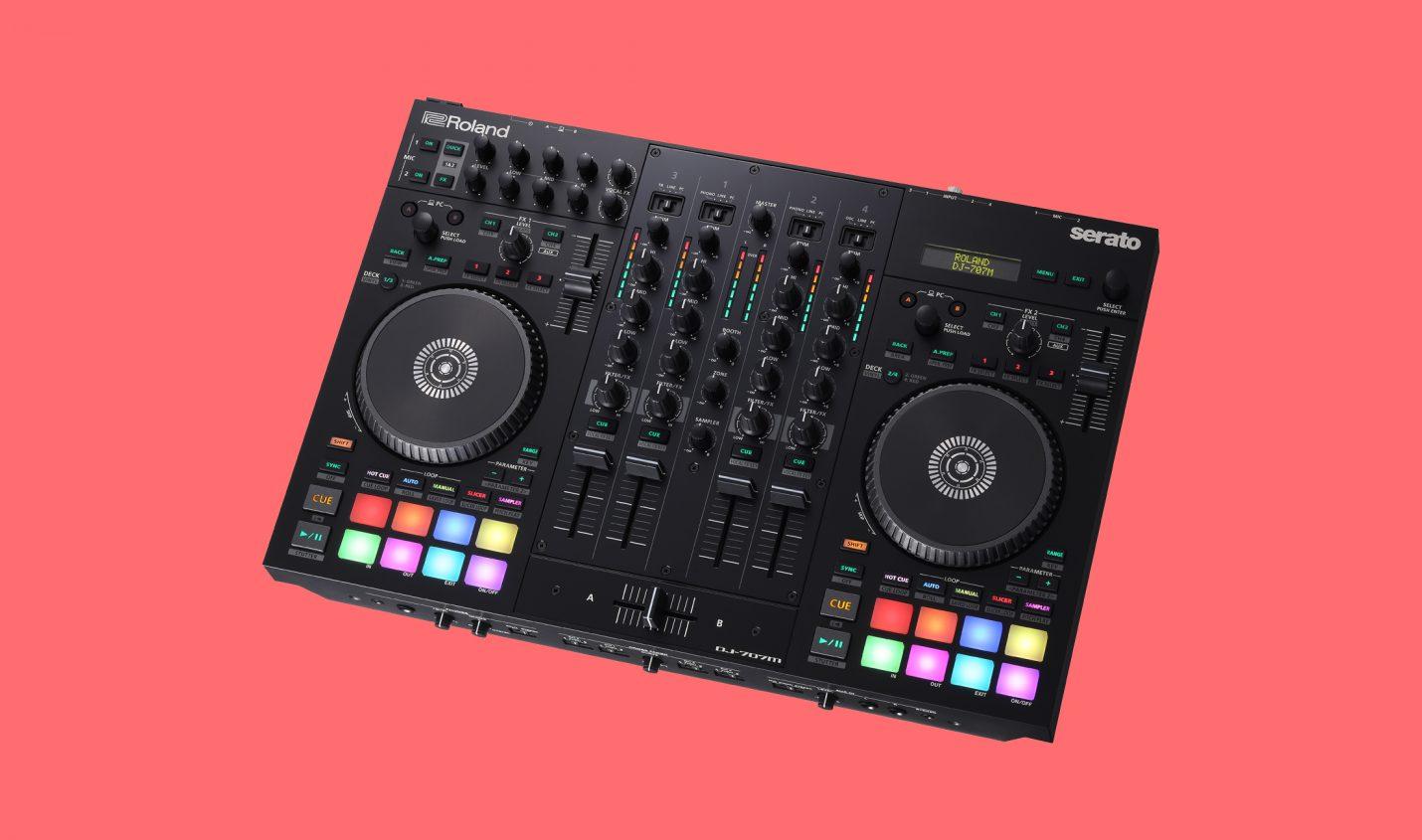 Neu: Roland stellt Serato-Controller DJ-707M vor