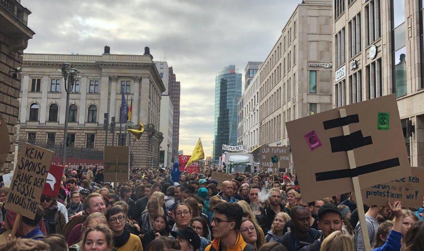 Impressionen: No Future No Dancefloor Demonstration in Berlin