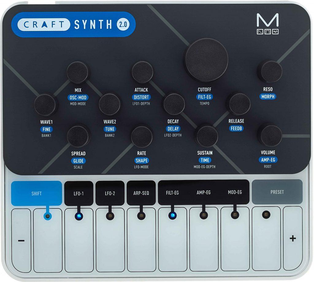 Modal Electronics CRAFTsynth 2.0 von oben
