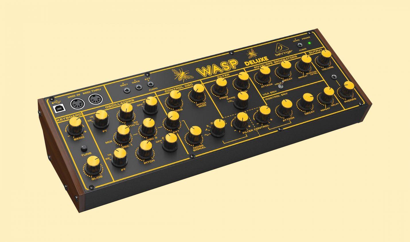 Leak: Behringer Wasp Deluxe Synthesizer – neuer Klon eines Klassikers - DJ LAB