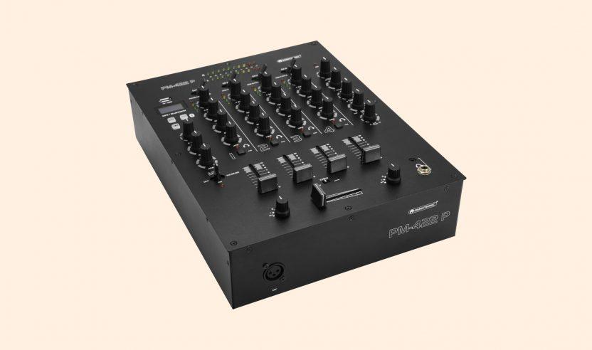 Test: Omnitronic PM-422 P / Vierkanal-Mixer